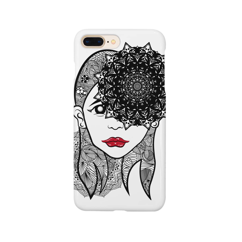 アトリエリトスのセンノカオ Smartphone cases