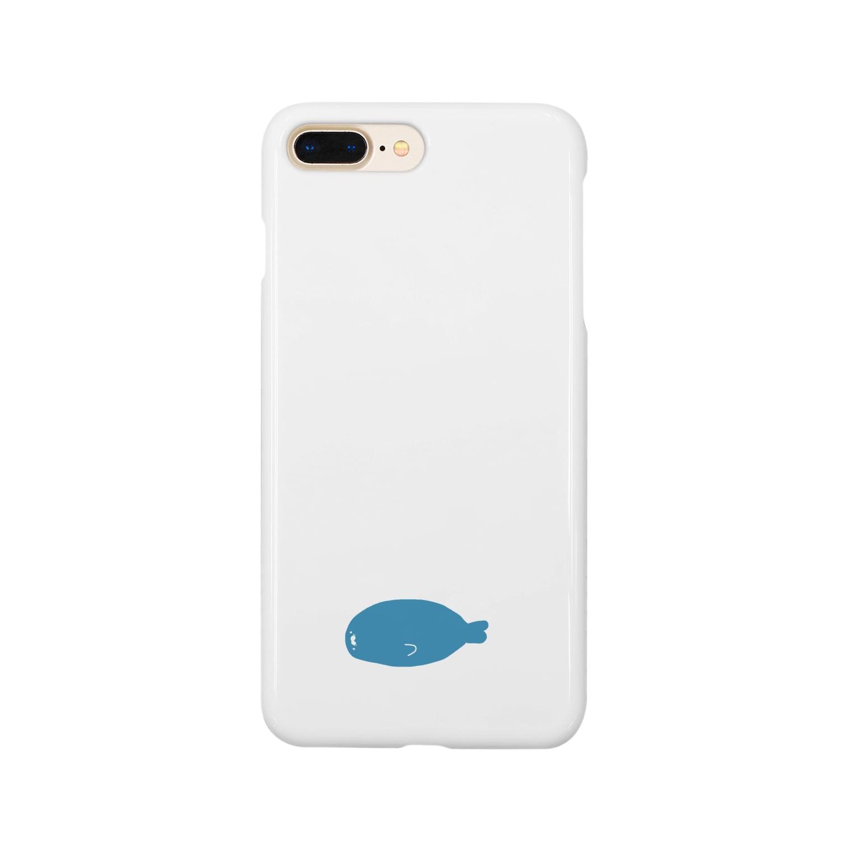 kirin.boutiqueのアザラシさん Smartphone cases