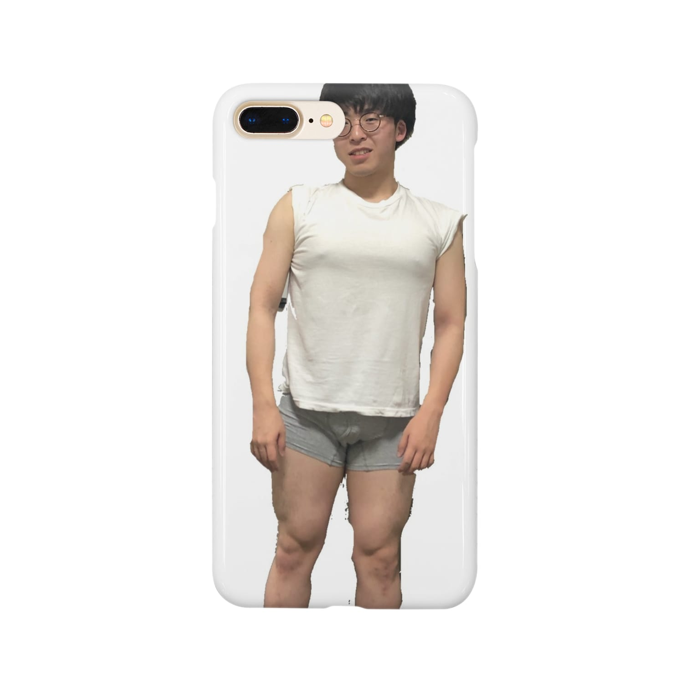 TSUNOOOOOOのヌギヌギヤンヤンさん、 Smartphone cases