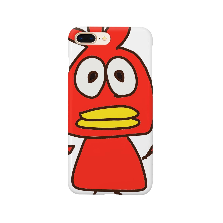 judasのアカイトリ Smartphone cases
