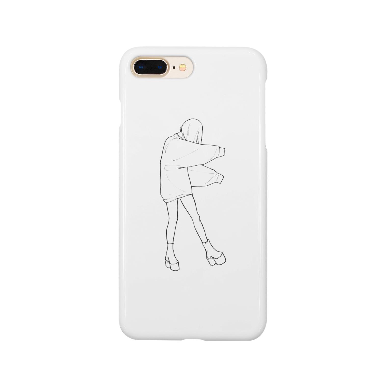 らくがきの現代貞子ちゃん Smartphone cases