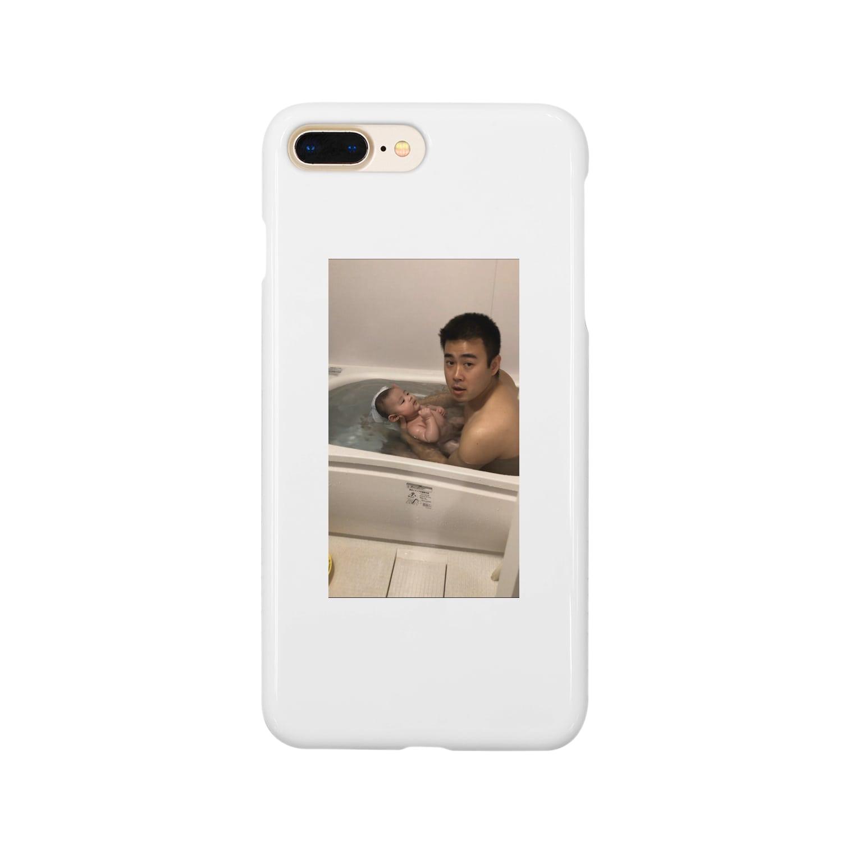 khr_ry_の父と子 Smartphone cases