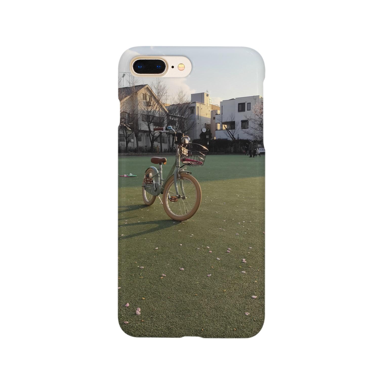 SZUKIのグリーンフィールド Smartphone cases