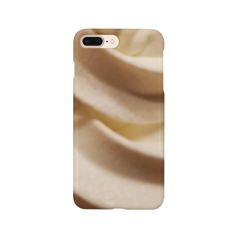 GZTNのソフトクリーム Smartphone cases