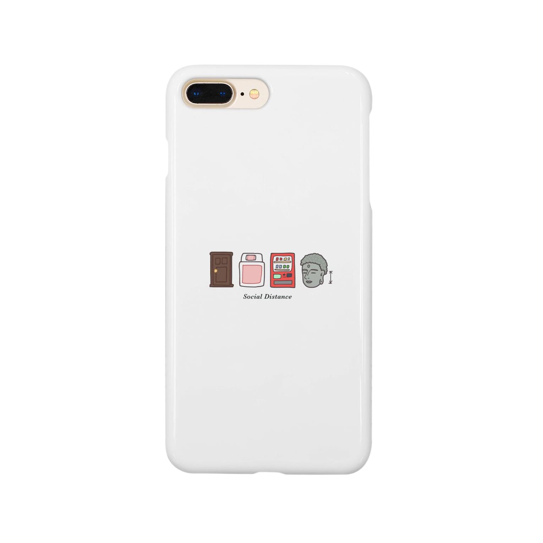 UdachikaのSocial Distance(ソーシャルディスタンス)シンプル Smartphone cases