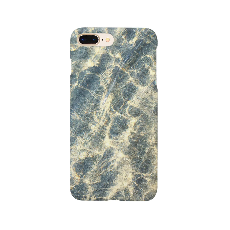 __AlohiLani__のビーチサイド Smartphone cases