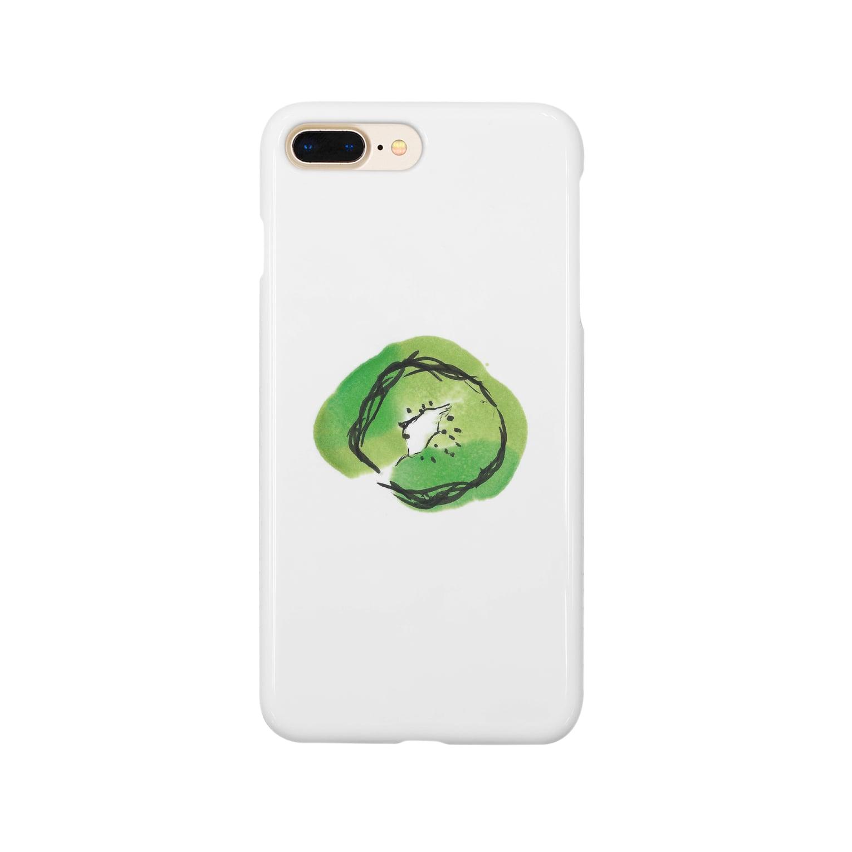 eauのKiwi Smartphone cases