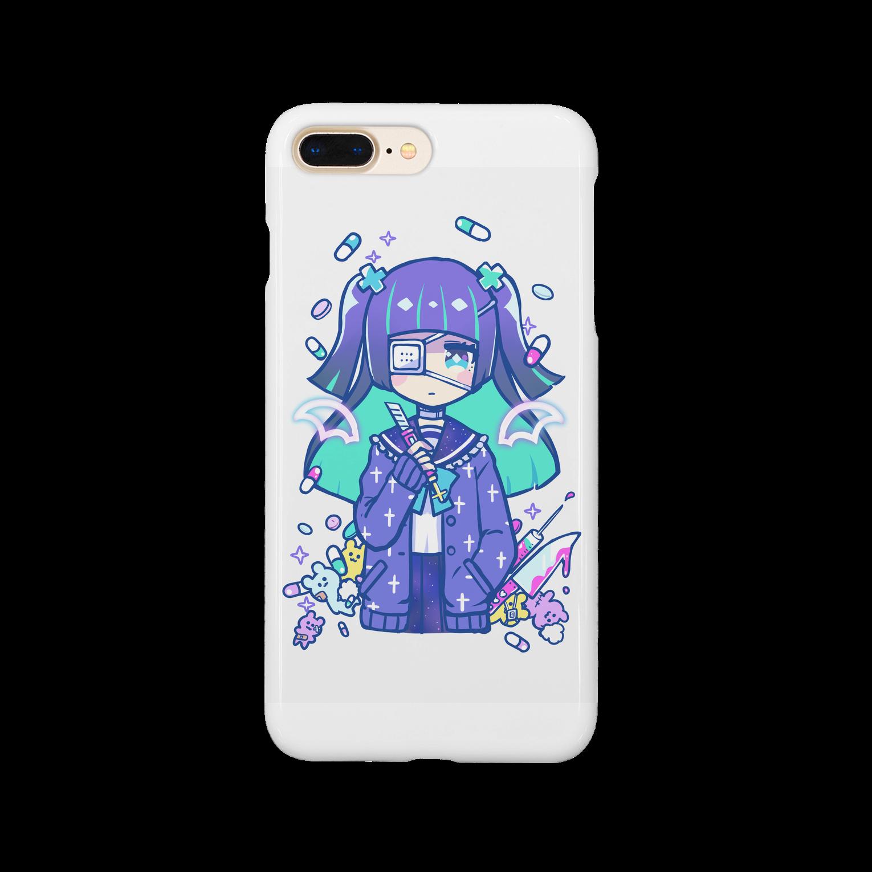 kisaragiyuuのやみかわちゃんスマートフォンケース