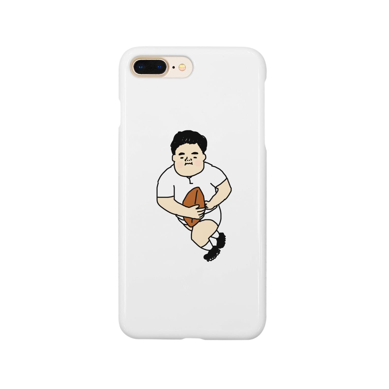heidi1203のラガーマン Smartphone cases