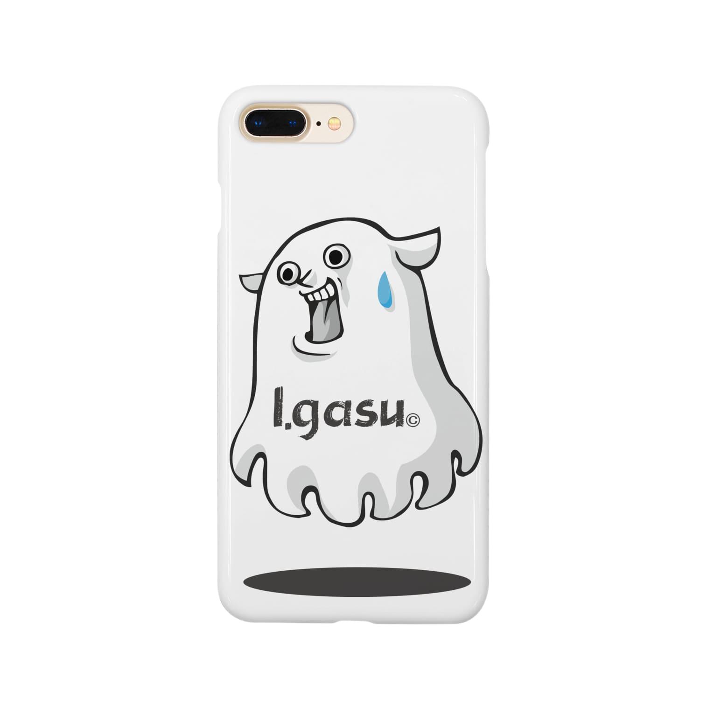 I.gasu🄬アイガスワールドのI.gasu mendako【アイガス】 Smartphone cases