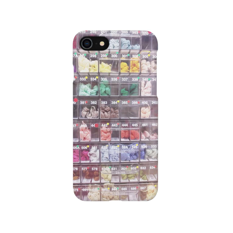 m_oのカラフルの仕分け Smartphone cases