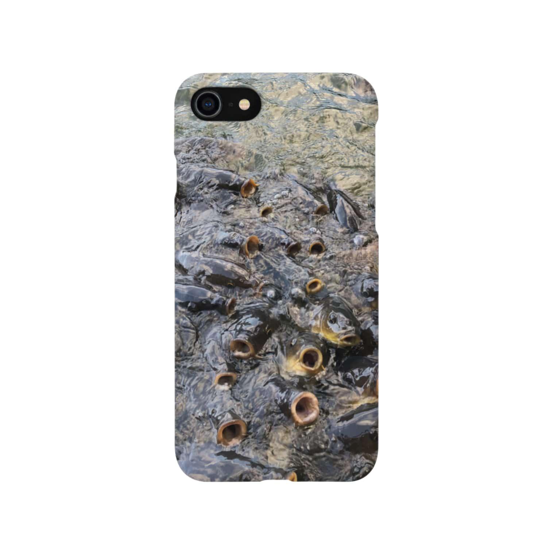 NYANGOROのパクパクコイ鯉 Smartphone cases