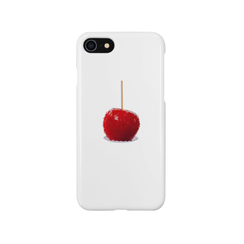 kirin.boutiqueのりんご飴🍎(素直) Smartphone cases