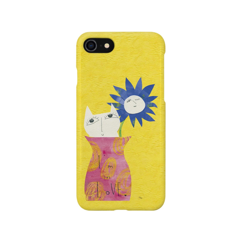 "A-nya.PoPo's Shopの""I'm in Love..."" Smartphone cases"