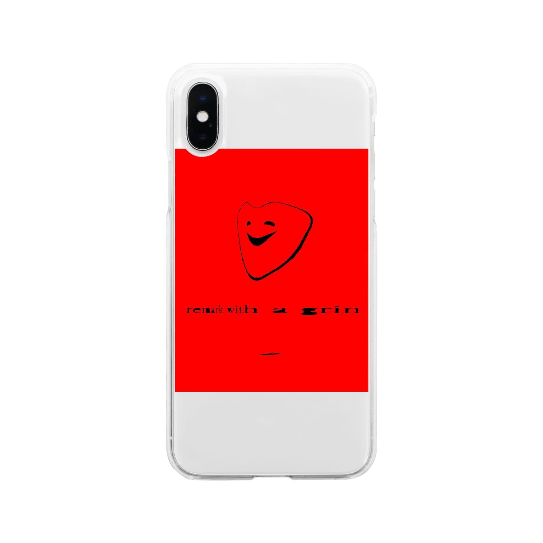 KAREZUの人間 Soft clear smartphone cases