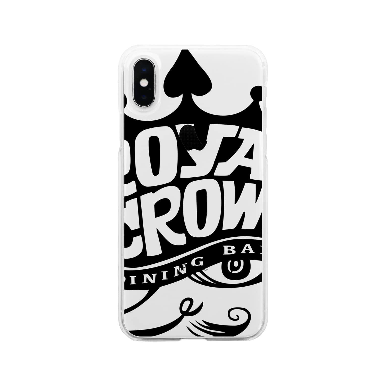 Shingo TashimaのROYAL CROWN 『KING』 Soft clear smartphone cases