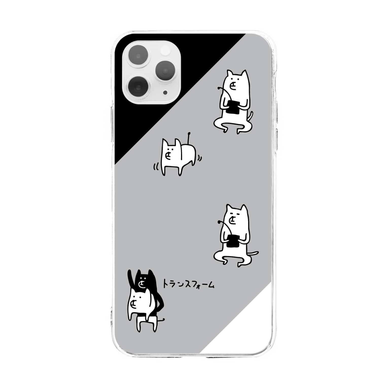 PokuStarの犬ラジコン・ケース Soft clear smartphone cases
