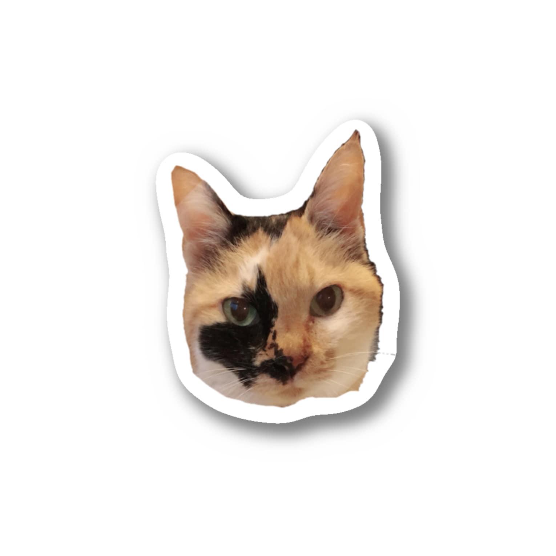 akaxxx164cmのミケちゃん Stickers