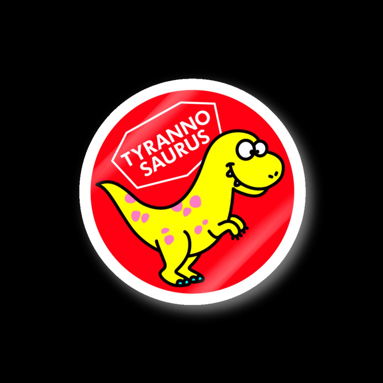 ILLUSTのティラノサウルスステッカー