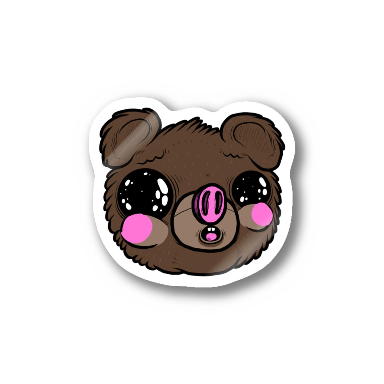 HUGオフォシャルショップのI am Fualey Stickers
