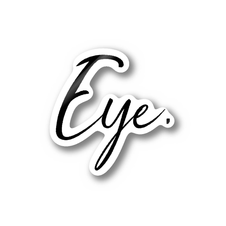 Eye.のEye.suzuri Black Stickers