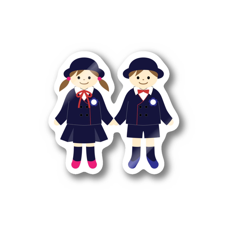 makiakiの幼稚園の思い出 Stickers