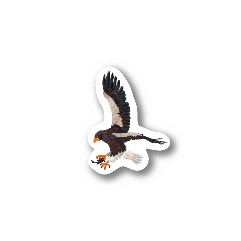 gomaphの空の王者オオワシ Stickers