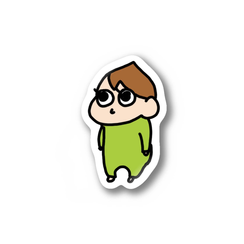 yuyu_32の息子 Stickers