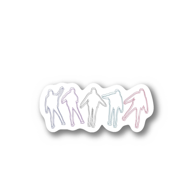 YoSHiKaのたまゆらシリーズ Stickers