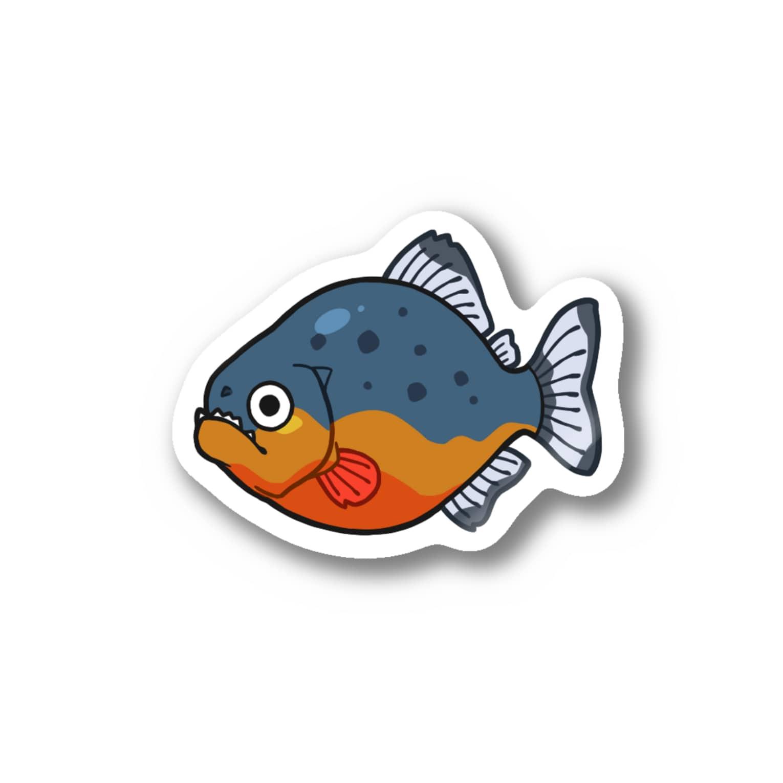 キノコ(HUTAGOのピラニア Stickers