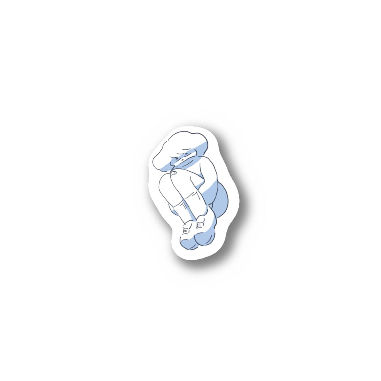 久男のゆる Stickers