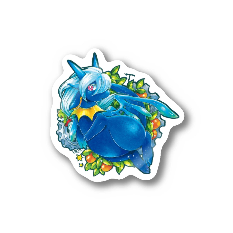 BARE FEET/猫田博人のティー・ステッカー Stickers