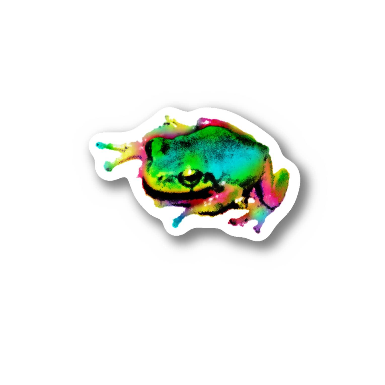 AkroworksのAkrofrog Stickers