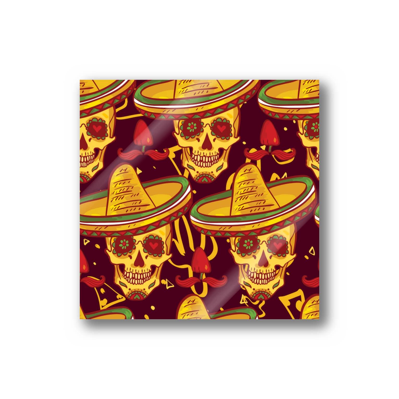 IZANAGIのメキシカンなドクロ~ Stickers