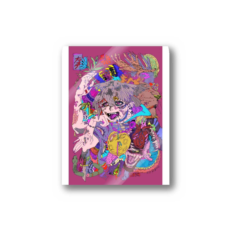natsuの白昼夢 Stickers