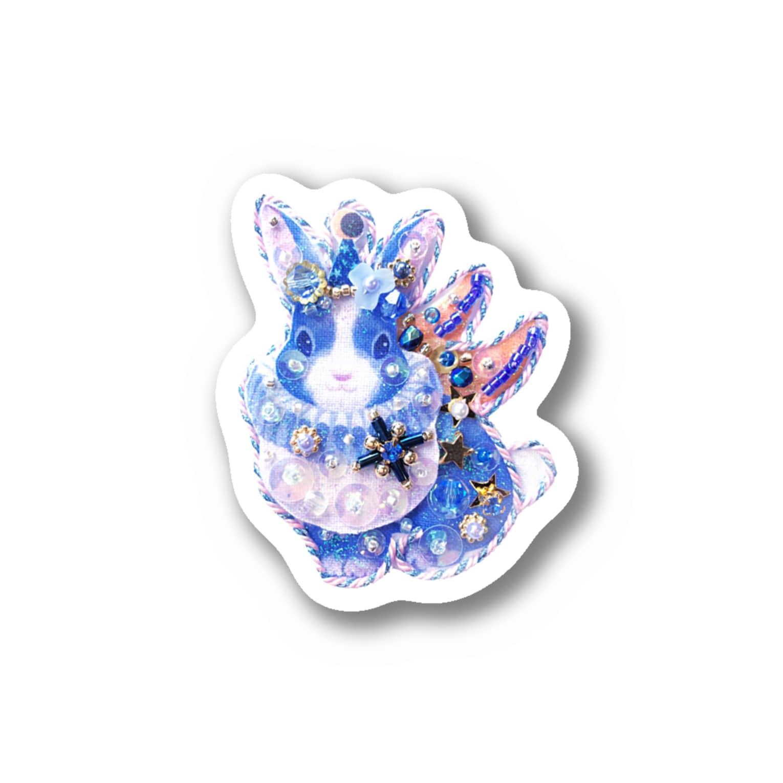 Piari🌗吉祥寺PARCOのステッカー✳︎天使うさぎ Stickers