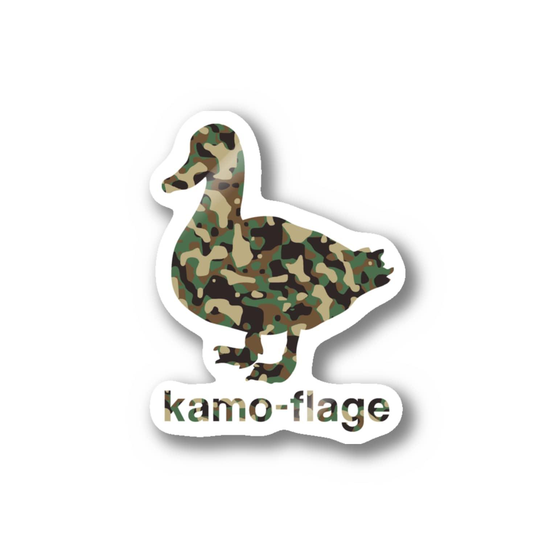 gemgemshopの鴨フラージュ Stickers