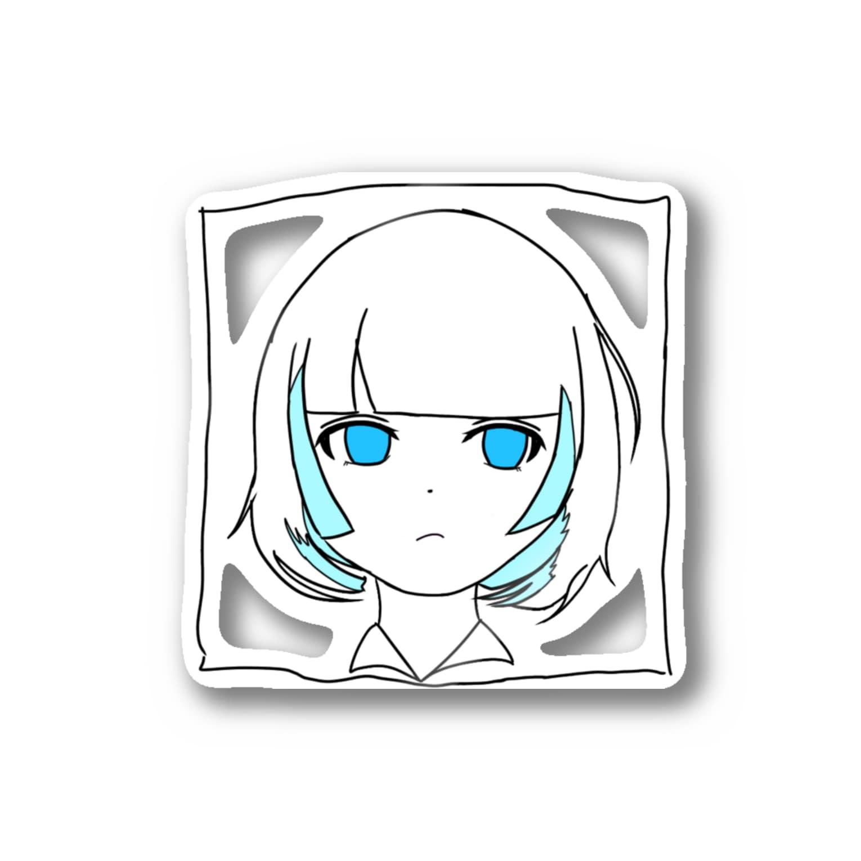 inoiの夏のあの子 Stickers