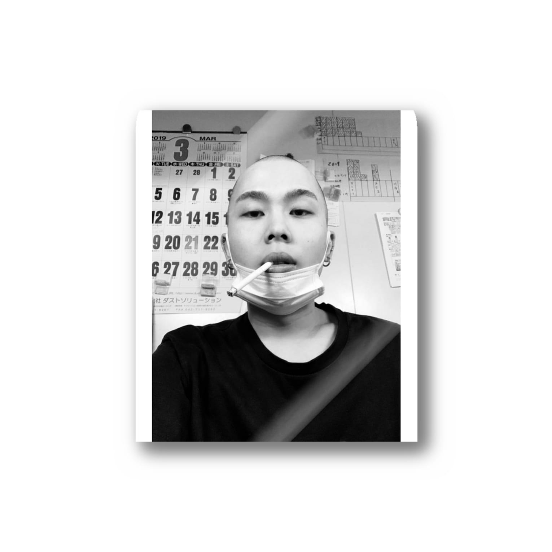 122_osx__のハゲ Stickers