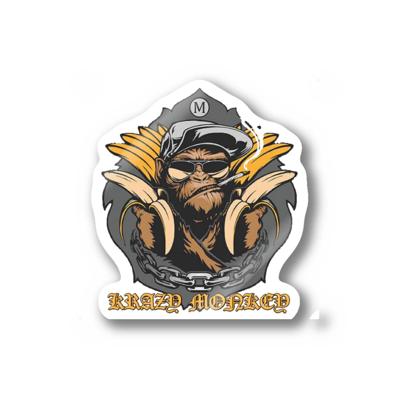 hirochunのmonkey  Stickers