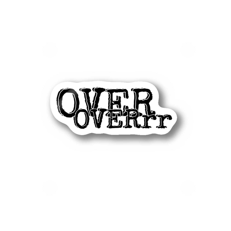 hachi08のOVERシリーズ2 Stickers