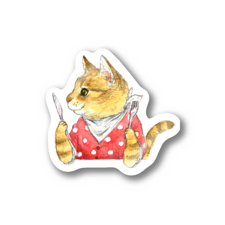 Rosemary*Teaのハングリーチャトニャン Stickers