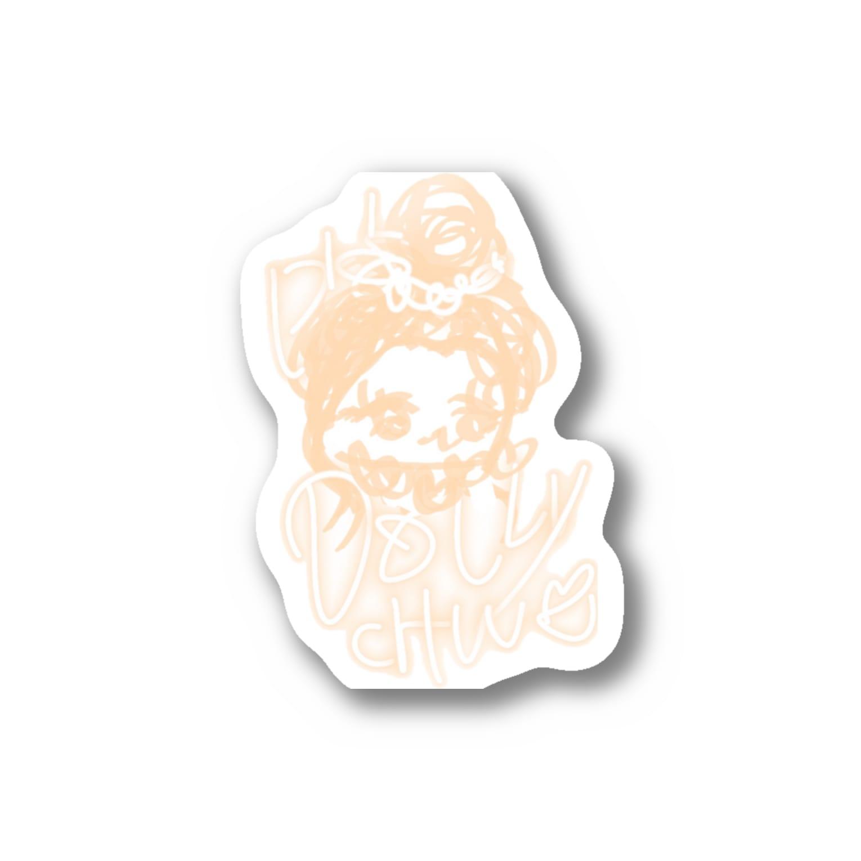 kityaのレディーエンジェルchan Stickers