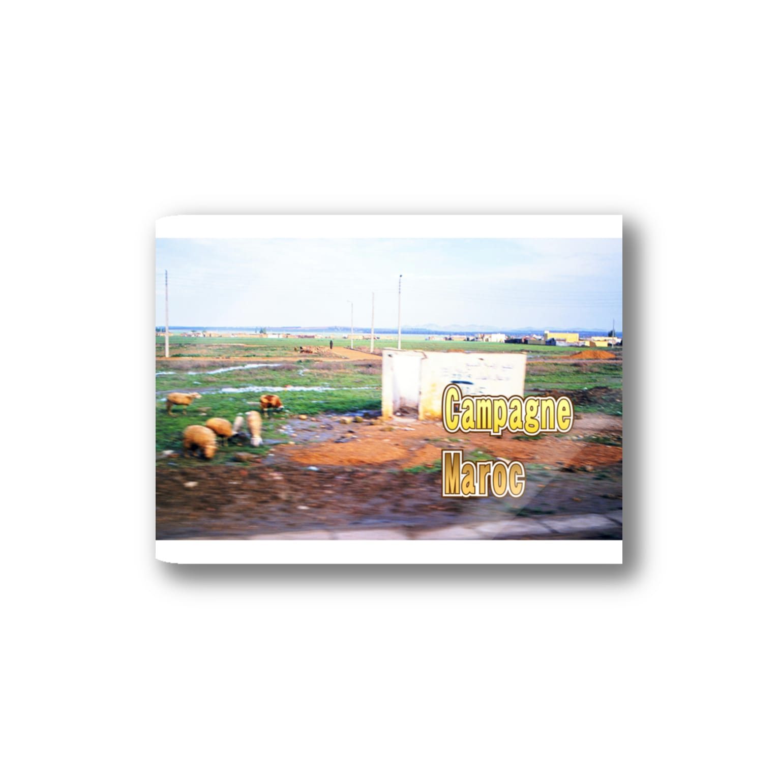 FUCHSGOLDのモロッコ:農村風景 Morocco: Country side Stickers