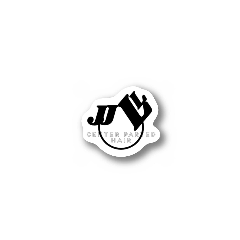 shibabashiのJとLによるセンター分け Stickers