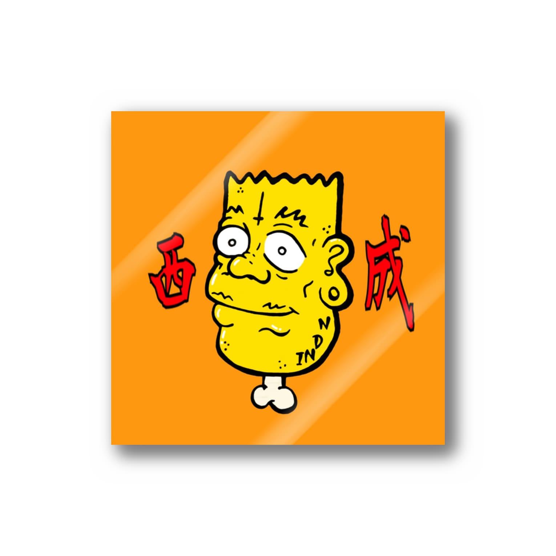 東風孝広の西成好きっ子クラブ Stickers