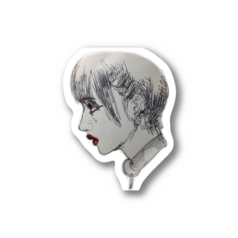 AYUの女 Stickers