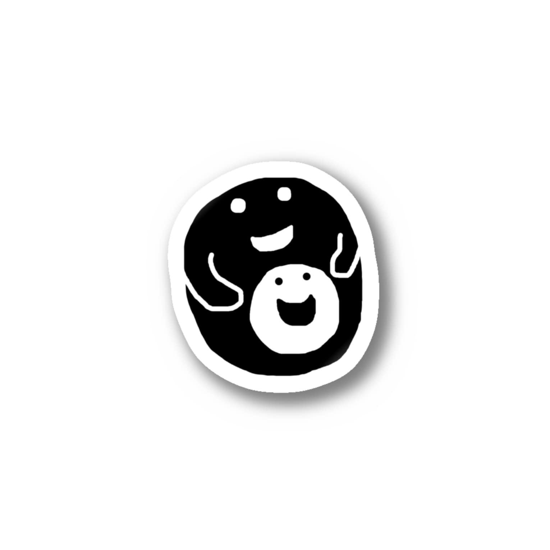 bocoxodesignShopのMom and Baby Stickers