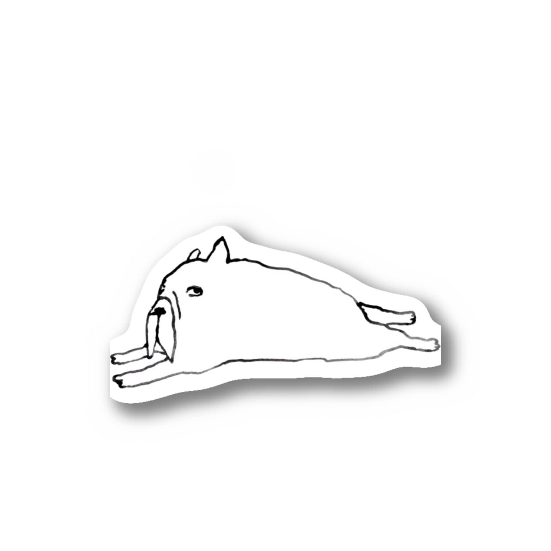 室井雑貨屋ののび〜 Stickers