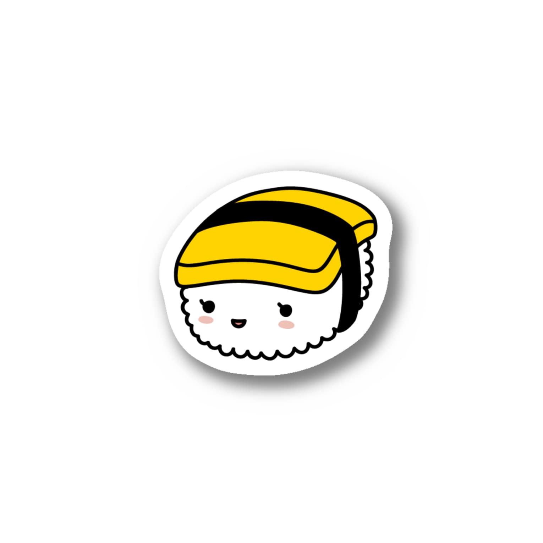 あわゆきの寿テッカー(たまご) Stickers